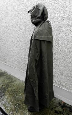 Army Canvas Poncho Half Shelter Polish Army Survival Bushcraft Camping   eBay IT BECOMES A TENT!!!