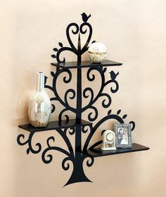 Wall Shelves with Decal Display|The Lakeside Collection