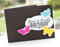 Lovely Birthday Butterflies - Two Peas in a Bucket