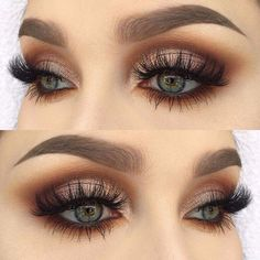 Eye Make-up Examples of eyebrow models and impressive looks - Wedding Makeup Prom Eye Makeup, Wedding Makeup Looks, Blue Eye Makeup, Eye Makeup Tips, Smokey Eye Makeup, Makeup Eyeshadow, Makeup Ideas, Makeup Light, Makeup Hacks