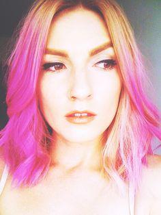 www.pastelovebarvy.cz Photo And Video, Pink, Hair, Instagram, Pink Hair, Roses, Strengthen Hair