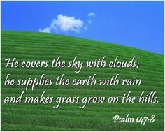 His Word in Pictures: Psalm 147:8