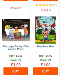 10 books for £1 at The Works. 264 to choose from. Possible Santa's Grotto gift? KM
