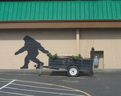 Even Bigfoot hauls trailers
