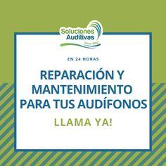 TU AUDÍFONO NECESITA REPARACIÓN?  Servicio técnico para audífonos, mantenimiento preventivo y correctivo, reparación y accesorios originales.  LLAMA AHORA!  611 0808 / 300 526 0573   solucionesauditivas.biz   #SolucionesAuditivas #ReparaciónYMantenimiento #Reparación #RepuestosOriginales #Soluciones #Hearing #Sound #60Años #Miércoles #FelizMiércoles #MitadDeSemana #Febrero #2019 #Audición #PérdidaAuditiva #MejoramosTuAudición Social Security, Personalized Items, Cards, Preventive Maintenance, Tech Support, Happy Wednesday, February, Originals, Accessories