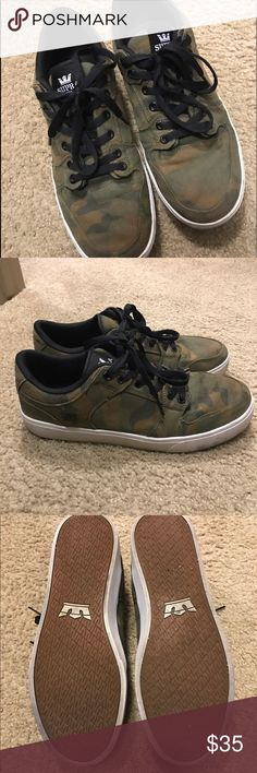 Supra Camo Shoes Light use. Camo Supra Men's Shoes! OBO Supra Shoes Sneakers