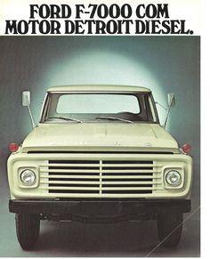 caminhão ford brasil F-7000 - Pesquisa Google