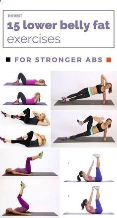 Belly Fat Workout - The Best 15 Lower Belly Fat Exercises For Stronger Abs Do This One Unusual 10-Minute Trick Before Work To Melt Away 15+ Pounds of Belly Fat #exerciseforbellyfat