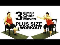 Push Up Exercise Modification - plus size - workout - episode 5 - YouTube