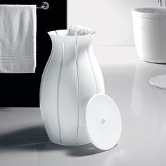 Wasmand `Amphora´ - Een blikvanger op uw edele badkamer: de wasmand in de vorm van een amfora. - Pro-Idee Concept Store - Nieuwe ideeën uit de hele wereld