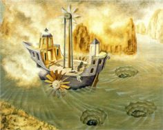 """The World Beyond"" by Remedios Varo (1908-1963) via Wikipaintings."