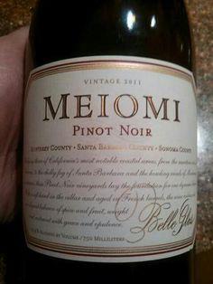 Belle Glos Meiomi Pinot Noir 2011