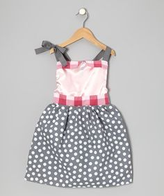Take a look at this Gray Modern Princess Dress - Infant, Toddler & Girls by MarKoos Modern Design on #zulily today!