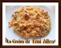 LA COCINA DE TRINI ALTEA: COUS-COUS CON VERDURAS, PASAS Y VINO BLANCO RIOJA ...