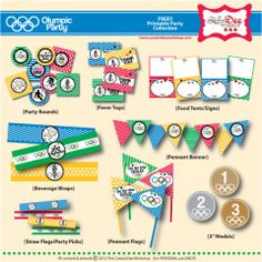 FREE Olympic Printable Party