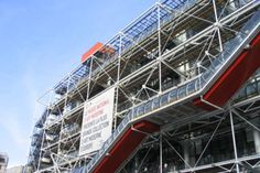 """The Quotable Richard Rogers British architect Richard Rogers reflects on his most famous work to date, Paris' Centre Pompidou: """"It was just typical of the Paris France, Francia Paris, Pompidou Paris, Georges Pompidou, Paris Travel, France Travel, Museum Of Modern Art, Art Museum, Richard Rogers"""