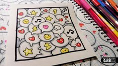 Cute Comic - How to Draw Patterns for your Doodles by Garbi KW