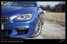 [Folia: Dayton Blue] Folie samochodowe - Zmiana koloru auta | Warsfoll.com.pl