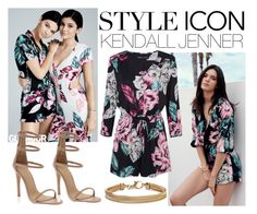 """""""Kendall Jenner"""" by rosalie-beeli ❤ liked on Polyvore featuring Topshop and Blue Nile"""