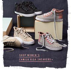 Shop Women' Camila High Sneakers