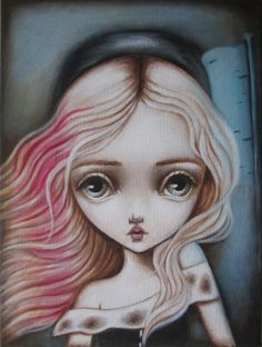 """Cosette"" by Lauren Saxton (Fair Rosamund Art)."