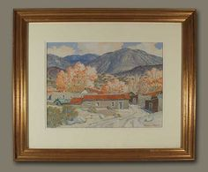 carl von hassler | ... Carl Von Hassler | Original Painting of Northern New Mexico Fall Scene