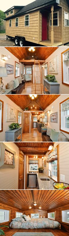 The Pioneer Tiny House (272 sq ft)