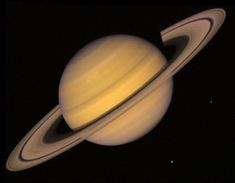 Saturn is the sixth planet from the Sun and the second largest planet in the Solar System, after Jupiter. Saturn has a ring system that consists of nine continuous main rings and three discontinuous arcs, composed mostly of ice particles with a smaller amount of rocky debris and dust. Sixty-two known moons orbit the planet; fifty-three are officially named.