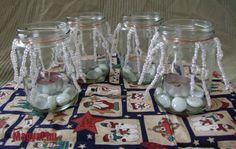Adventi koszorú - Karácsony - Karácsonyi készülődés - Christmas - Advent Advent, Mason Jars, Glass Vase, Home Decor, Decoration Home, Room Decor, Mason Jar, Home Interior Design, Home Decoration