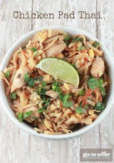 Chicken Pad Thai Recipe - quick and simple #easyrecipe