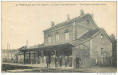 Merville - La gare avant la guerre