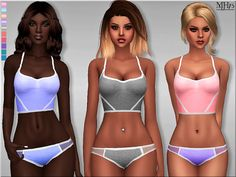 Sims 4 CC's - The Best: Work It Outfit by Margeh-75