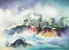 Amazing watercolor painting by Michael David Sorensen
