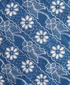 Batik Material/Cloth – Page 4 – Indonesia Batik Corner Batik Pattern, Pattern Art, Pattern Design, Batik Art, Batik Prints, Malaysian Batik, Dye Flowers, Batik Kebaya, African Textiles