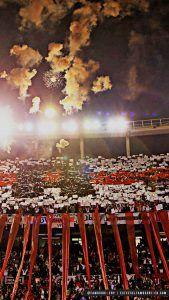 [DESCARGA] Fondo de Pantalla Celular River Plate  Monumental  Noche Fuegos Artificiales