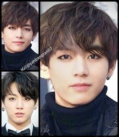 BTS | V and Jungkook ~ TAEKOOK'S LOVE CHILD IS HOT