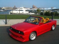 My Build Garage - Ferrari Red BMW E30 M3 convertible, S52 swap, HOT !