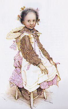 Holly Hobbie - African American girl