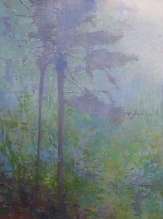 Rain on the mountain 12x16