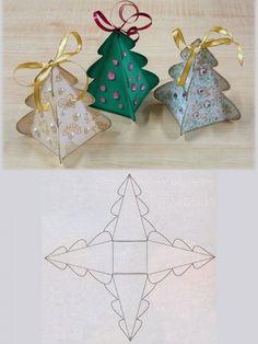 Free Craft Tutorials | Free Craft Patterns | Free Craft Instructions | Holiday Crafts | Kids Crafts : Christmas Craft | DIY Christmas Tree B...