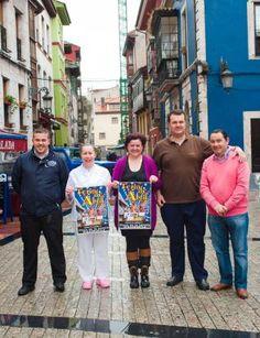 Por la izquierda, Emilio Valle, Ana Blanco, Bego Huergo, Bulnes y Gaspar Prieto.