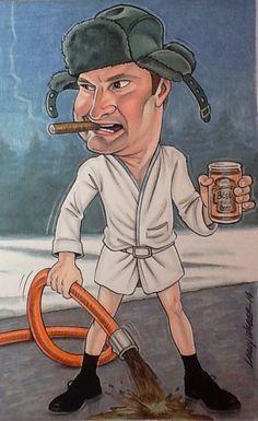 Cousin Eddie caricature