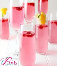 This Drink Pink Mocktail is perfectly pink and oh, so tasty! Remember to take the steps to detect breast cancer in its early stages and to encourage your loved Drink Pink, Pink Drinks, Soft Drink, Milk Shakes, Punch Rose, Pink Punch Recipes, Party Punch Recipes, Breast Cancer Party, Cancer Free Party