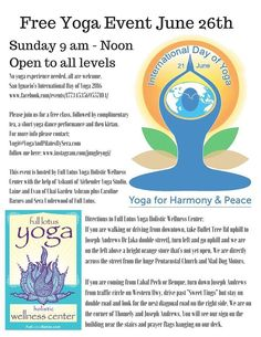 Cayo International Day of Yoga 2016