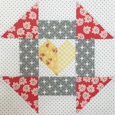 Churn Dash Block - Farm Girl Vintage - Bee in My Bonnet