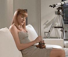 BROTHERTEDD.COM - sarahspaulson: Chloë Sevigny as Jean AMERICAN... Chloe Sevigny, American Psycho, White Dress, Fashion, Moda, Fashion Styles, Fashion Illustrations