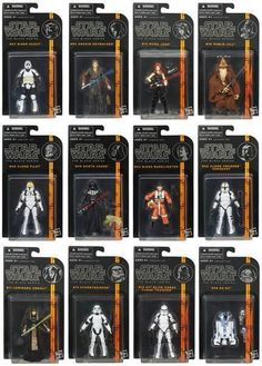 Star Wars Black Series 3.75 inch Wave 2 Case - The Movie Store
