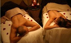 Group erotic massage in pairs