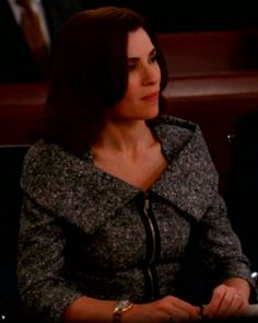The Good Wife Season 5 Outfits, Explained by Costume Designer Daniel Lawson - Season 5, Episode 10: Michael Kors Jacket from #InStyle