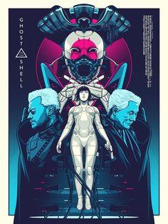 Ghost in the Shell Manga Alternative Movie Poster Amien Juugo No. Cyberpunk 2077, Cyberpunk Kunst, Arte Pulp Fiction, Illustrations, Illustration Art, Bd Comics, Alternative Movie Posters, Movie Poster Art, Ghost In The Shell